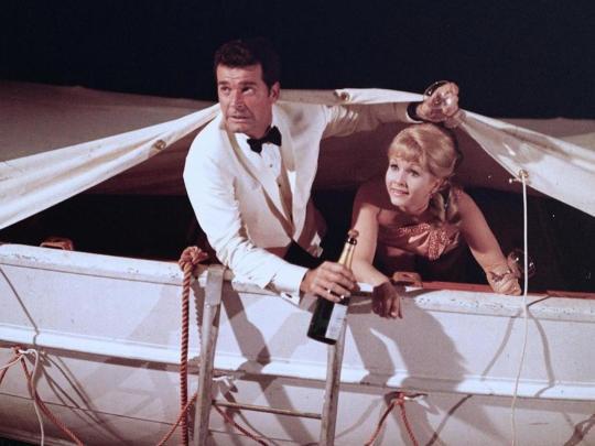 Debbie Reynolds & James Garner