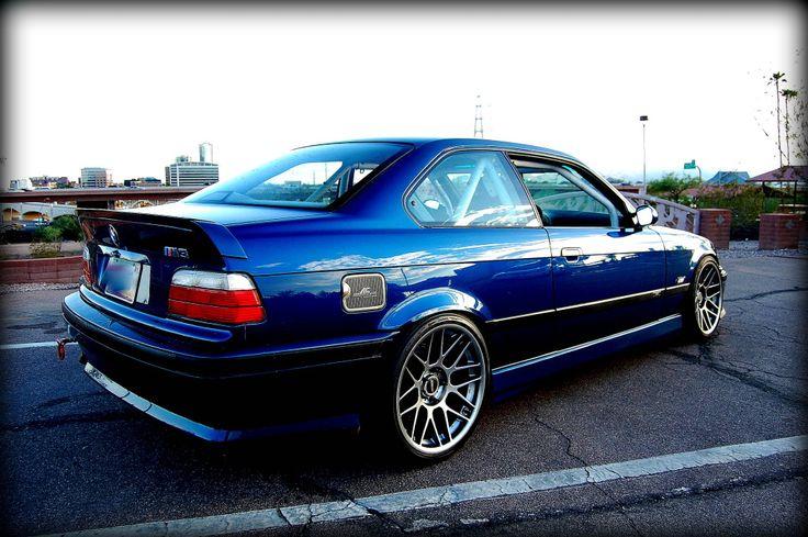 Acs Avus Blue E36 M3 With Arc 8 Wheels Bmw E36 Bmw E36