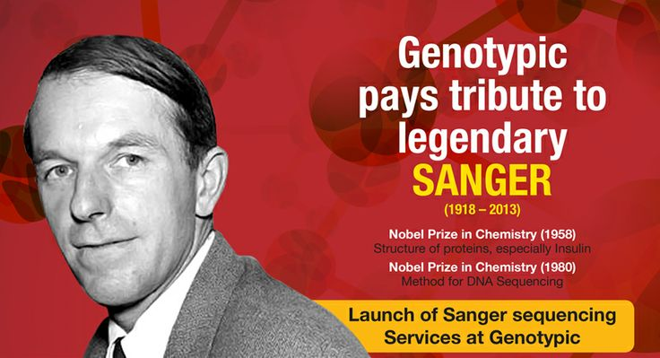 Genotypic pays tribute to legendary Fredrick Sanger!  Launch of Sanger Sequencing services at Genotypic Technology : Full day Sanger Sequencing Workshop on 1st Feb 2014 at Genotypic Technology, Bangalore. Bring your own samples and get it sequenced in Sanger.  Come and explore the technology that unraveled the Human Genome sequence.   For Registration log on to www.genotypic.co.in or call +918040538300. Hurry!! Limited seats!