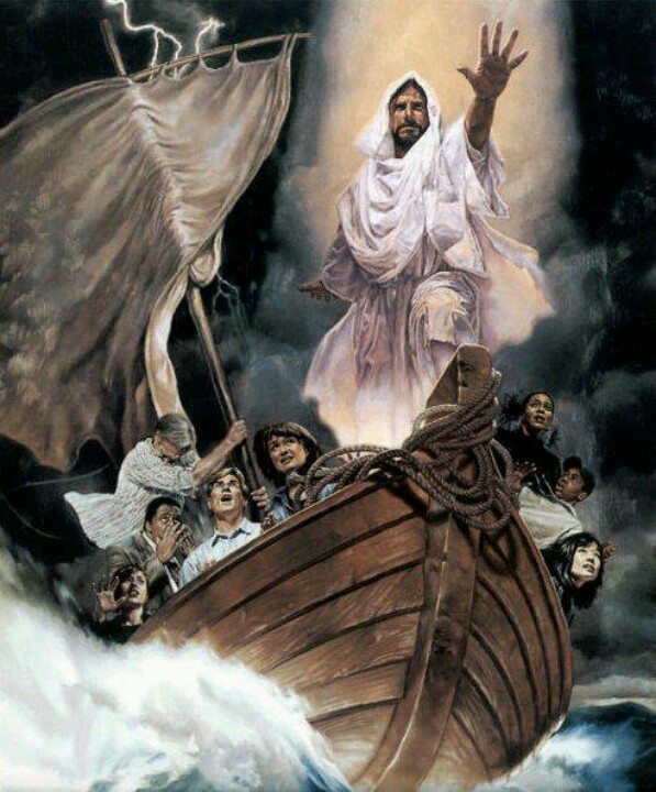 Jesus Who Is He that He that even the winds and seas obey His voice? Lord God of ALL creation! And He loves you!