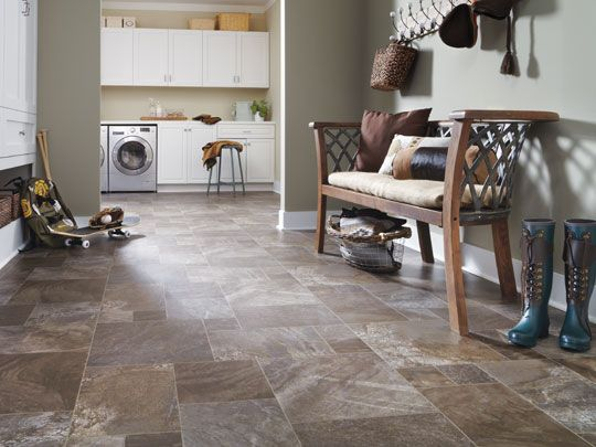 Tarkett FiberFloor Is Perfect Alternative To Linoleum And A Unique Flooring Option That Stands Up Real Life Water Moisture Scuffs Scratches