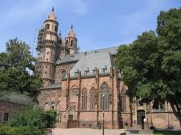 My friend got married here. Its a historic church in Wurms Germany where Martin Luther lived