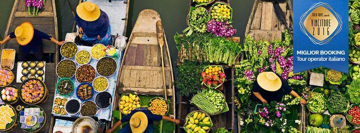 """""""È la grande madre acqua ad accompagnare la vita di chi nasce in #Indocina. Fiumi, oceani, laghi, mercati galleggianti, palafitte, canoe. Un mondo liquido"""" [Corrado Ruggeri - Farfalle sul Mekong]"""