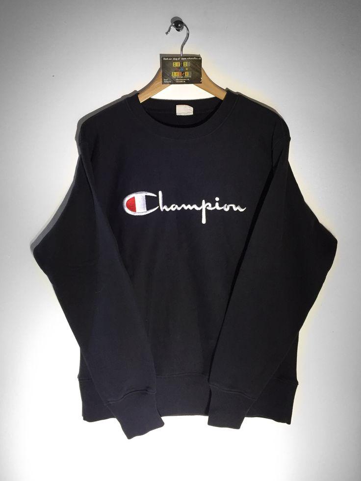 Champion Sweatshirt size X/Large £34  Website➡️ www.retroreflex.uk  #champion #vintage #oldschool #retro #truevintage #sweatshirt
