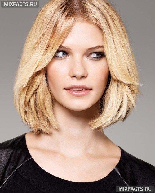 Самая красивая стрижка волос для круглого лица (фото)