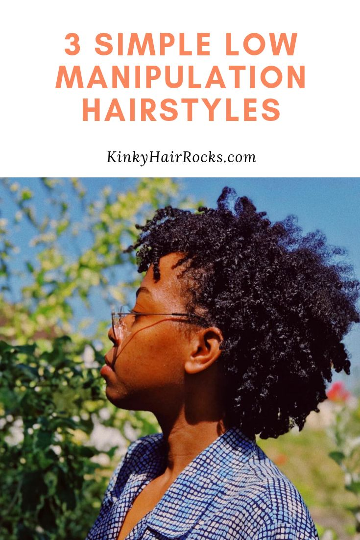 Low manipulation is a major key if you want to retain as much length as possible with your natural hair.