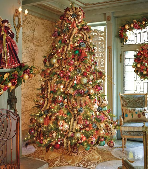Christmas Decorated House Alexandria Va: 386 Best Images About Christmas Trees On Pinterest