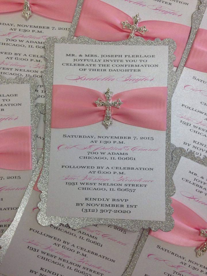 Baptism Invitation Christening Invitation by PlaceOfEvents on