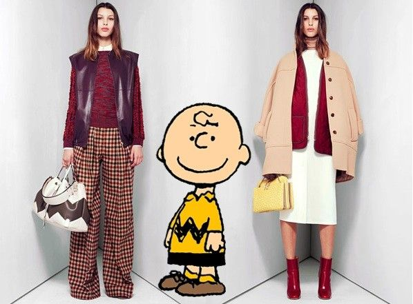 Chloe Peanuts Collection- Chloé's Pre-Fall 2012 collection was comical. And we mean that in the best way possible: the line was inspired by Charles Shulz's classic, Peanuts. Charlie Brown and Lucy got a very high-end fashion nod, specifically in the line's handbags.