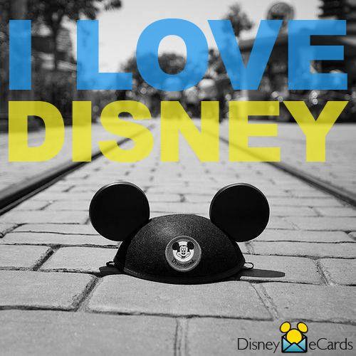 I love Disney!