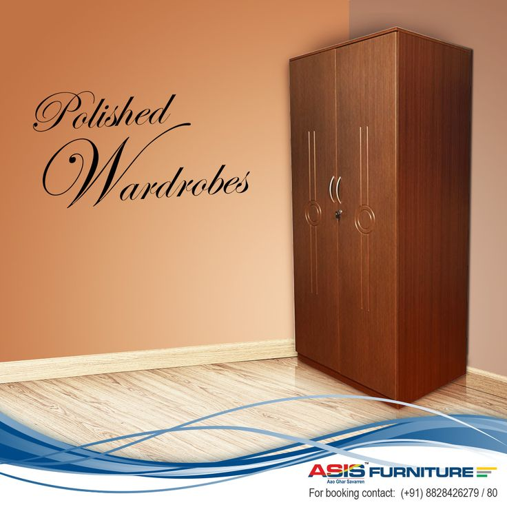 ASIS Wardrobe Is Best When Used As Fitted Wardrobe As It Makes Your Home  Look More Spacious And Enhances Its Interior Design. #Furniture  #AsisFurniture ...