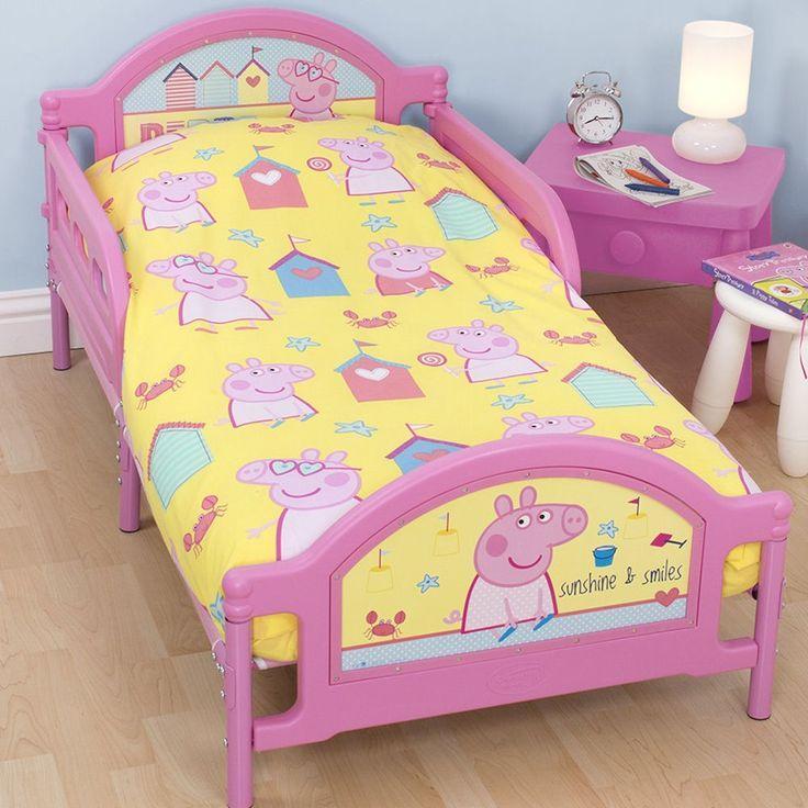 Peppa Pig Seaside Junior Toddler Bed Frame 163 69 95 Kids