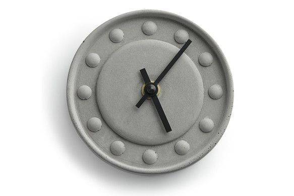 Concrete Clock by Tove Adman