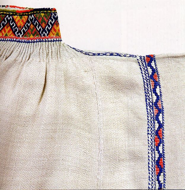 FolkCostume и вышивки: костюмы и вышивка Ингрии, часть 4 с пониманием к происхождения сарафане
