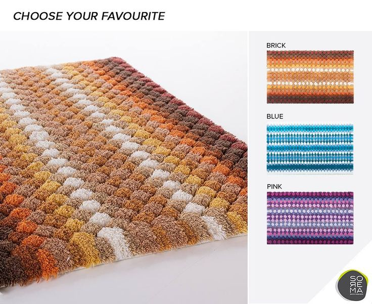 Choose your favourite bath rug