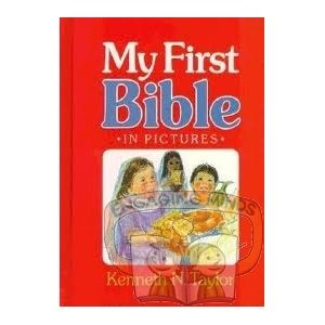 My First Bible in Pictures - Children of all ages love to have a Bible they can call their own.  For fifteen years My First Bible in Pictures has delighted young children with 125 of the best-loved stories of the Bible.  This is a Bible kids can grow into and begin reading themselves.   Many of the stories have obvious applications for young children, and a simple question brings home the truth of each story, helping to anchor important facts in children's minds.
