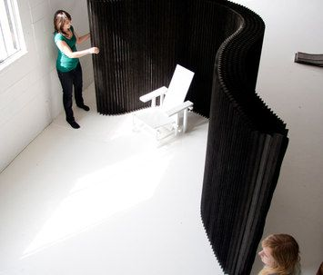 softwall + softblock | black kraft paper-molo-Stephanie Forsythe-Todd MacAllen