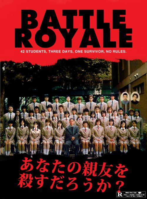 """""""Battle Royale"""" de Kinji Fukasaku, 2000 Le mercredi 16 juillet à 16h30 et le jeudi 17 juillet à 21h. www.forumdesimages.fr/les-films/les-programmes/le-jeu/battle-royale-int.-16-ans"""