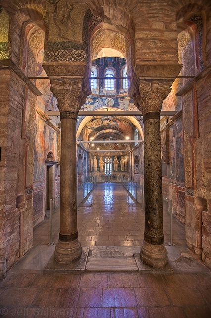 Chora Church, Istanbul.  The most beautiful byzantine mosaics in Istanbul.  You can't miss it.