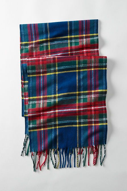CashTouch Plaid Scarf from Lands' End