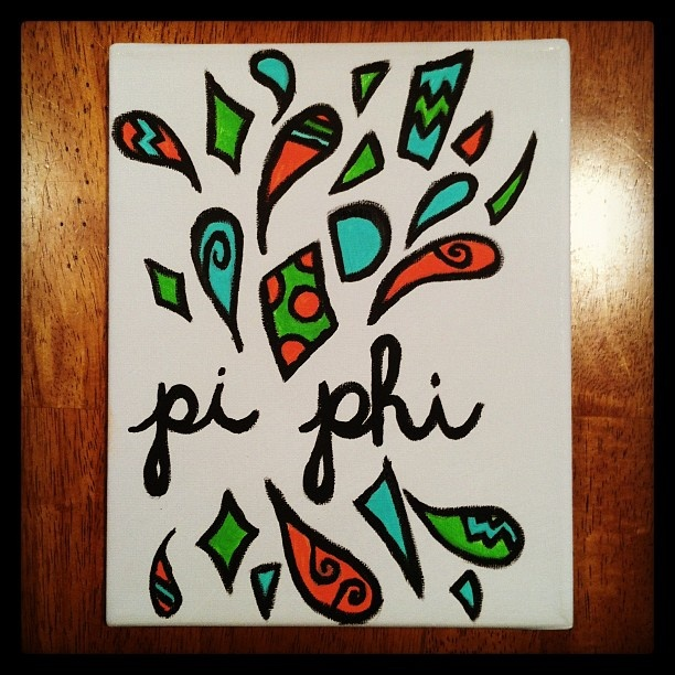 This would look even better with Alpha Phi written in it.. #aphi
