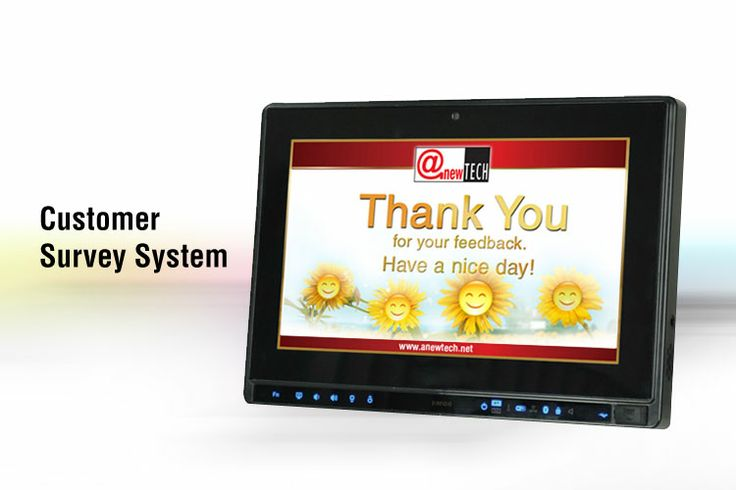 Customer Survey System  Thank You Message  Customer Survey