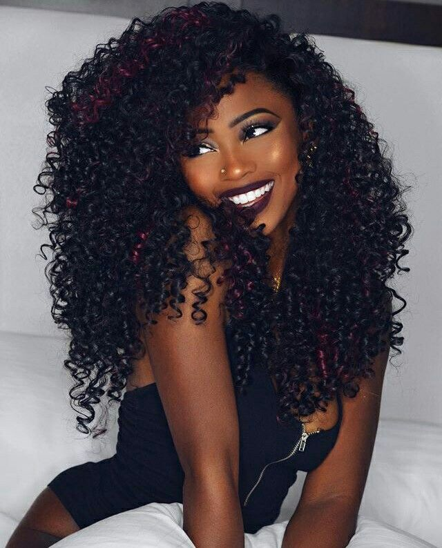 Hairstyles for weave black women curly