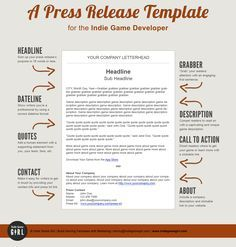 7 best press release images on pinterest press release press release template pronofoot35fo Image collections