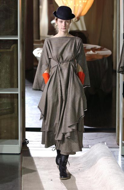 Daniela Gregis - love the complex but sleek silhouette of this!