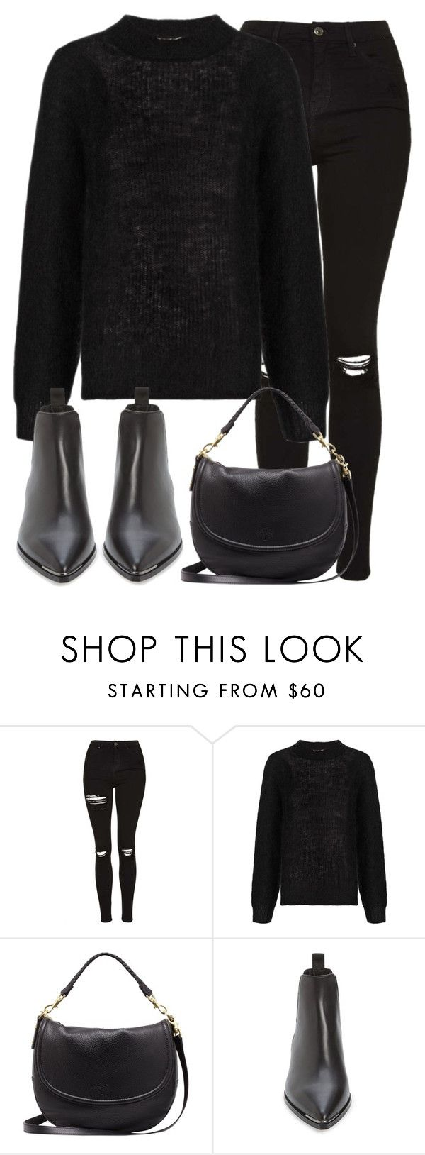 """""""Untitled #2815"""" by elenaday ❤ liked on Polyvore featuring Topshop, Whistles, Mulberry and Acne Studios"""