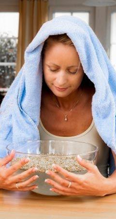 Infos und Tipps für ein Dampfbad bei Schnupfen: Wie man es verwendet und welche Vorteile es hat