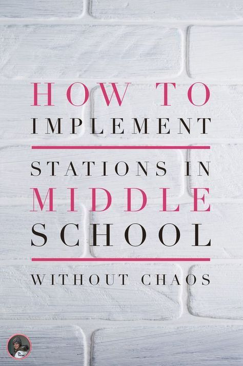 how to use stations in middle school #middleschool (scheduled via www.tailwindap…