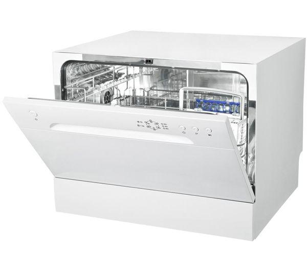 dishwasher £150 ESSENTIALS CDWTT15 Compact Dishwasher - White