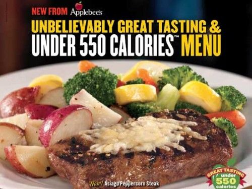 NEW Applebee's Weight Watchers Menu!!!! - LaaLoosh