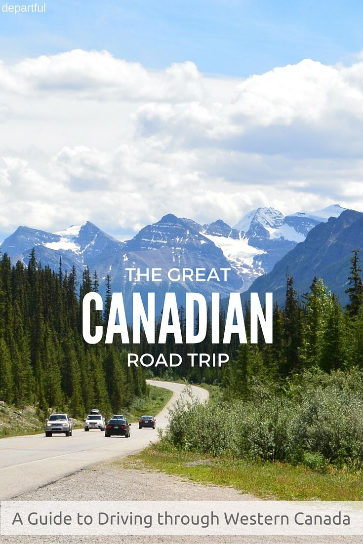 Ultimate road trip through Western Canada - from Calgary to Vancouver and back again. Lots of photos for inspiration on where to stop along the way | Departful