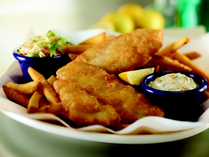 Hard rock cafe fish chips nom hardrock copycat for Captain d s batter dipped fish