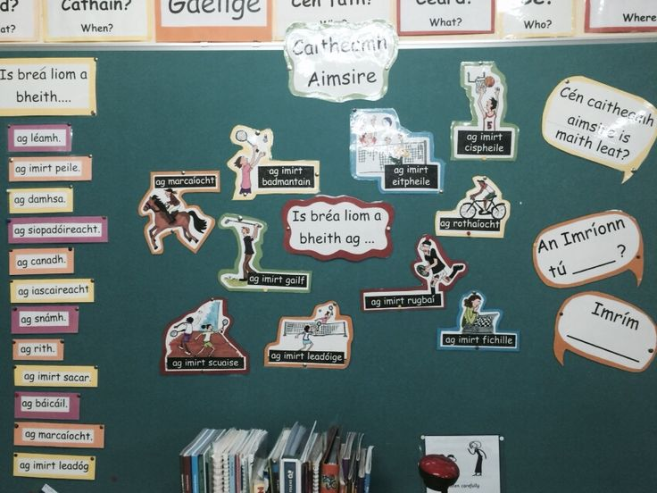 Caitheamh aimsire notice board