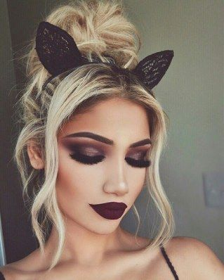 Ahumado - Ideas de maquillaje para Nochevieja