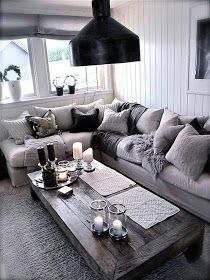 The Grey Home : 20 fantastic grey living rooms