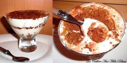Tiramisu chocolat & spéculoos