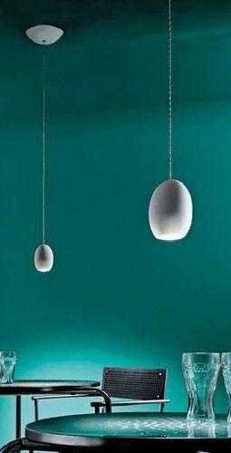 contemporary pendant lamp (ground glass) MINI: PATATA ALBUM