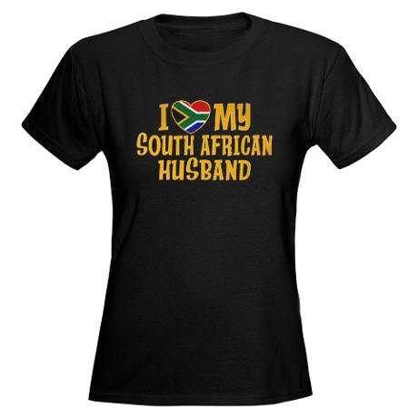 South African Husband Women's Dark T-Shirt