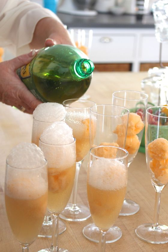 Easy punch recipes ginger ale sherbet