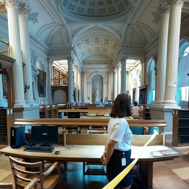 Osgoode Hall Law Library in Toronto, ON