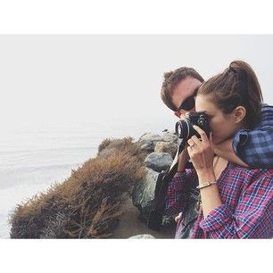 Because they take totally adorable holidays together. | 27 Reasons Troian Bellisario And Patrick J. Adams Should Be Your OTP