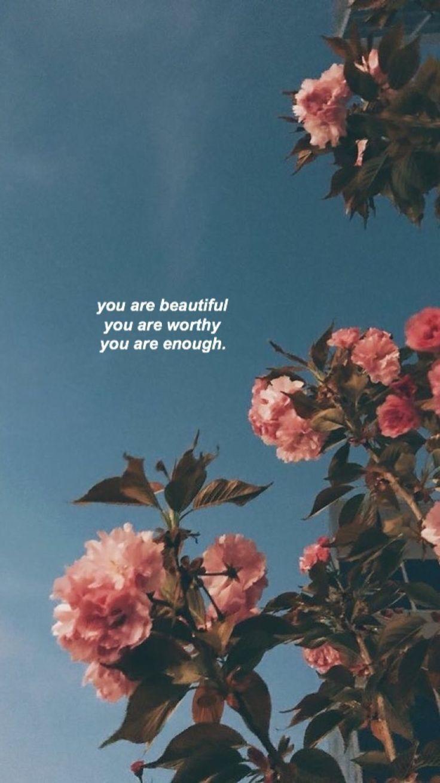 Weil er schön ist, ist er würdig und er ist genug. So wie Jesus im Himmel ist, so bist auch du in dieser Welt.