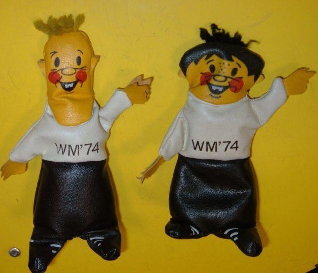 Tip & Tap WM 74 FIFA World Cup Mascot Mascot Germany Football Soccer MASKOTTCHEN | eBay