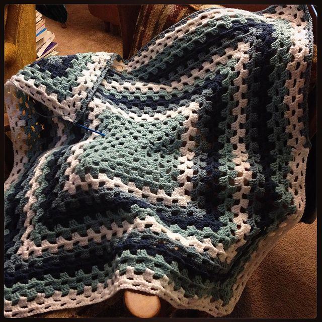 Ravelry: CeliaHargwood's Granny Square Baby Blanket