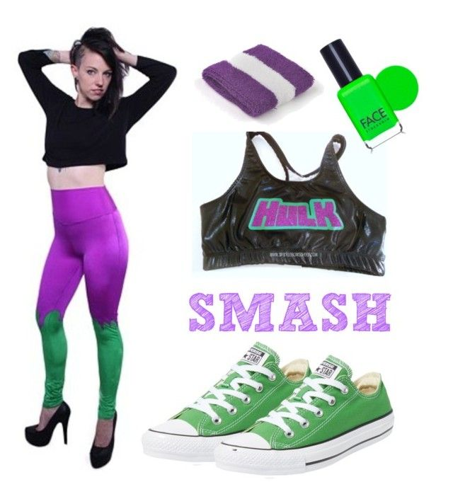 Untitled #4 by nosodacosplay on Polyvore featuring polyvore, fashion, style, Converse and FACE Stockholm