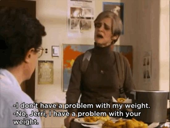 When she strongly declared her body confidence: | 26 Moments When Jerri Blank Inspired Us To Be Better People